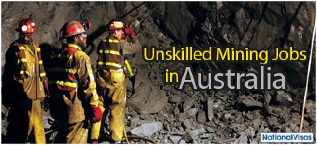 The Rise of the Unskilled Mining Jobs In Australia