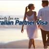 Applicants for an Australian partner visa