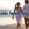 Applicants for an Australian partner visa