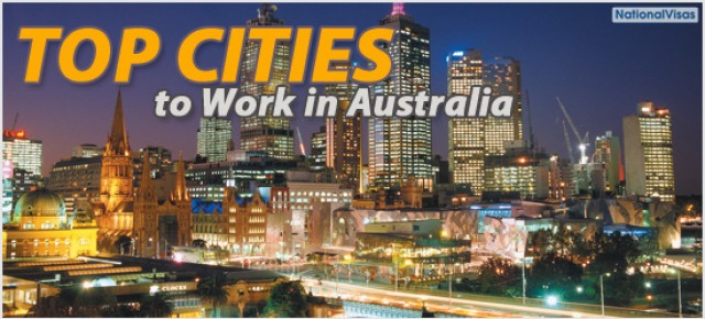 Top Cities to Work in Australia
