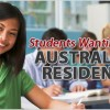 Students Wanting Australian Residence