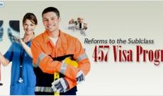 New Measures for 457 Visa Program