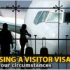 Choosing a visitor visa to suit your circumstances