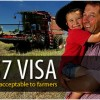 Farming industry accepts skilled visa price hike