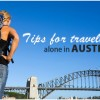 4 Tips for Travelling Alone in Australia