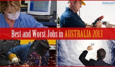Job conditions in Australia for 2013