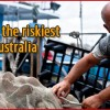 Fishing as Australia's riskiest job
