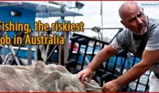 Fishing as Australia's riskiest job