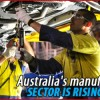Notable growth: Australia's manufacturing sector expanding