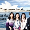 Coming to Australia with family members