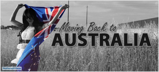 Moving Back to Australia