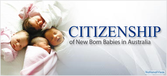 baby born australia babies residency citizenship status