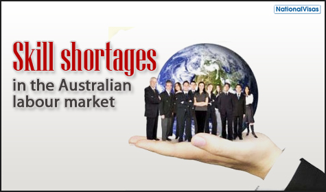 Information available about Australian Skill Shortages