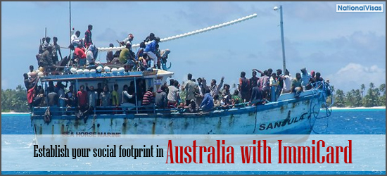 Establish Your Social Footprint In Australia With Immicard