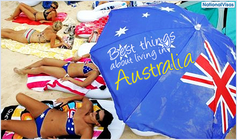 Best things about living in Australia