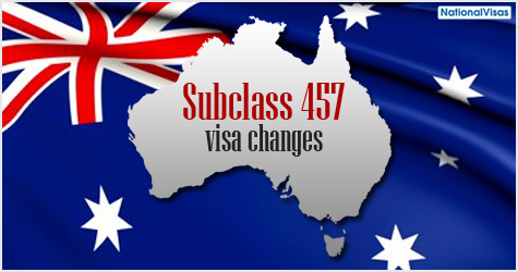 Australian Government implements 457 visa changes