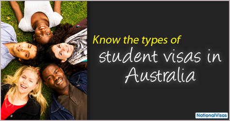 Know the types of student visa in Australia