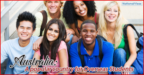 Australia: A popular country for Overseas Students