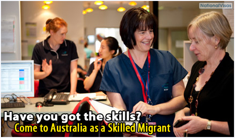 How to come to Australia as a skilled migrant
