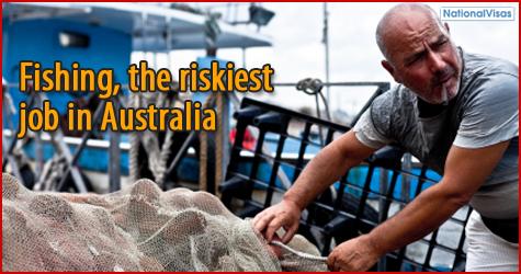 Fishing the riskiest job in Australia