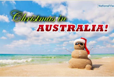 Australian Visitor Visas – Apply now for Christmas!