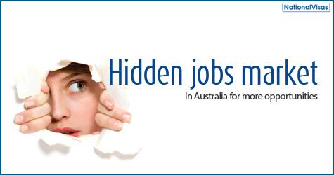 Hidden jobs market in Australia for more opportunities