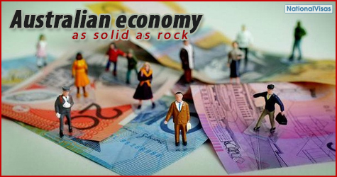 Australian Economy as solid as rock