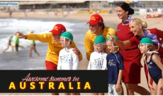 Exciting summer travel in Australia