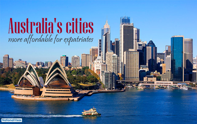 Attention expats: Australian cities now more affordable!