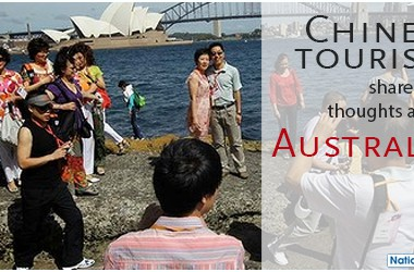 Australia for Chinese visitors