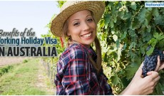 3 benefits of the Australian working holiday visa