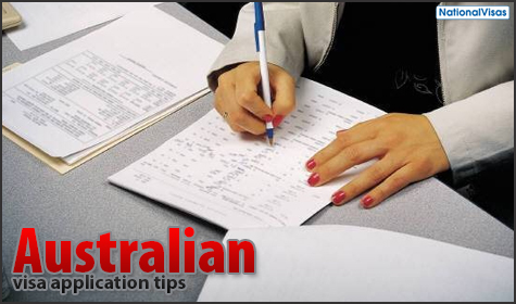 Australian visa application tips