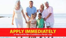 Closure of some parent visas to Australia