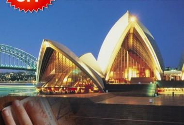 Fast, easy ETA visas to Australia now on sale for half price!