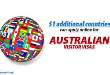 Australia adds more countries eligible for online visitor visa application