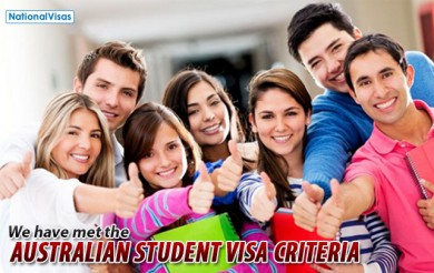 Important Visa Criteria To Be Met by Australian Student Visa Applicants