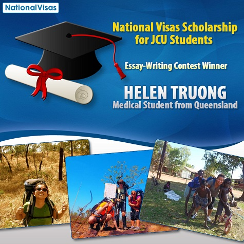 Medical student from Queensland wins National Visas scholarship contest