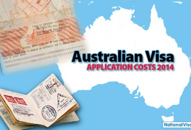 Australian Visa Application Fees and Charges 2014