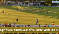 Single Australian visa for Cricket World Cup