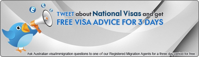Pay with a tweet for Free Immigration and Visa advice for 3 days!
